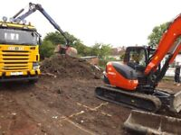 Groundworks builders concrete foundations drainage extensions ground excavation