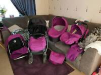 Oyster 1 travel system with extras