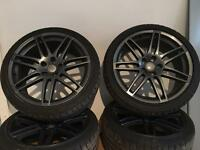 Audi Alloy Wheels and Tyres Genuine RS4