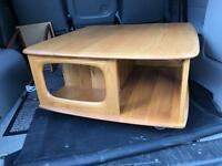 Ercol pandora coffee table - immaculate condition.