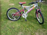 "SALCANO Wolf 20"" Full Suspension Girls Mountain Bike"