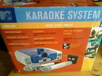 Karaoke System with Graphics