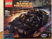 Lego DC Comics 'The Tumbler' (new, mint)