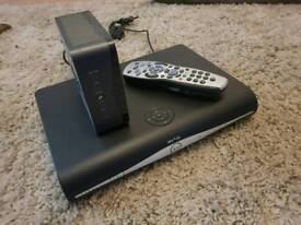 Sky + HD box with Wi-Fi and remote