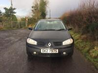 Renault Megane 2004 1.5 Dci Full Year Mot 60 Mpg 5 Door Only £30 Tax A Year