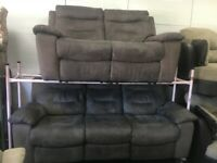 Lazy boy power recliner 3&2 grey sofas tags attached delivery available bargain