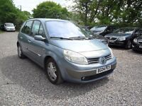 2004 RENAULT SCENIC 1.9 DCi 'PRIVILEDGE' MPV--NEW MOT THIS WEEK--6'SPEED-spares repair !