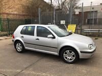 2003 VW GOLF 1.6 MATCH , MOT 5 MONTHS