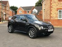 2014 NISSAN JUKE TEKNA, FULL MOT, SERVICE HISTORY, 35k MILEAGE, SAT NAV, FULL LEATHER, HPI CLEAR
