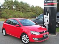 VOLKSWAGEN POLO 1.6 TDI 90 SEL (red) 2012