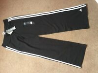 ADIDAS JOGGING BOTTOMS SIZE 12, NEW WITH TAGS