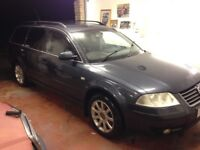 2003 Passat 1.9 s tdi estate, 5 speed,lovely condition for age