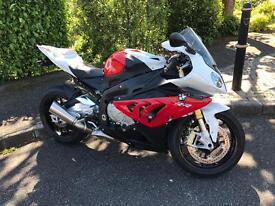 BMW s1000rr 2012 full history totally mint px car or bike cash either way