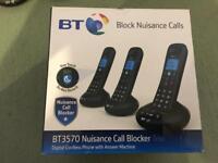 BT3570 Nuisance call blocker phones/answering machine