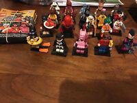 Lego batman mini figure full set