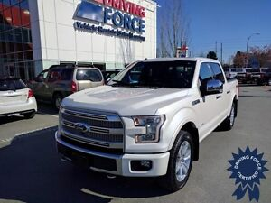 2016 Ford F-150 Platinum FX4 Super Crew 4x4 - 35,470 KMs, 3.5L