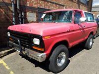 1977 Ford Bronco 6.6L V8