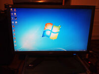 "Acer 24"" X243H Widescreen monitor"