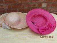 assortment of formal hats