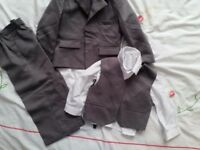 Boys grey suite size for 2years