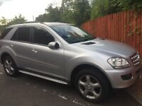 Mercedes ml320 fsh 10 month mot and full service history ..quick sale