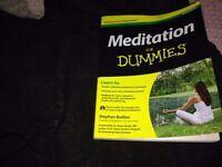 Meditation for dummies book