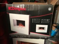 Dimplex Clova wall hung electric fire