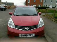 Nissan Note 2009 for sale.