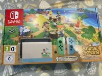 Nintendo Switch - Animal Crossing Bundle