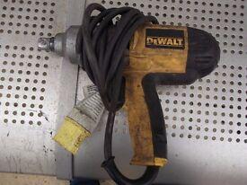 dewalt 110v power impact wrench
