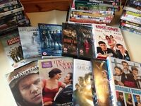 58 DVDs inc new titles and classics