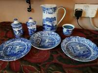 SPODE China, 12 mixed pieces