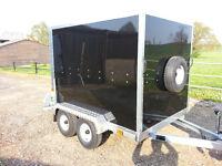 Box Trailer Tickners GT 7' x 5' x 5' in Black