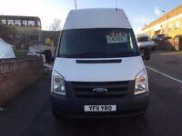NO VAT FORD TRANSIT T350 MWB 2.2TDCI 115BHP 2011/11REG FSH £4499 NO VAT