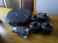 Lovely pots and hot plate