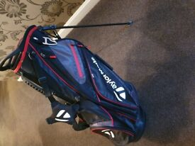 Taylormade golf stand bag brand new