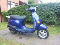 Piaggio ET2 50cc 1 Owner Low Mileage