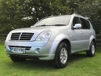 2007 Ssangyong Rexton 2.7 turbo diesel Automatic