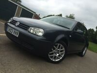 2003 MK4 GTI 5 Doors 2.0 Petrol, 3 Owner From New, 10Months MOT&Full History, Heated Leather Seats.