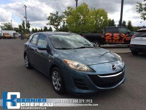 2010 Mazda MAZDA3 SPORT GX **A/C, PRISE AUX, CRUISER + WOW**