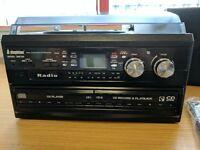 NEW Steepletone SMC595 Silver - NOSTALGIC RETRO 5-IN-1 MUSIC SYSTEM