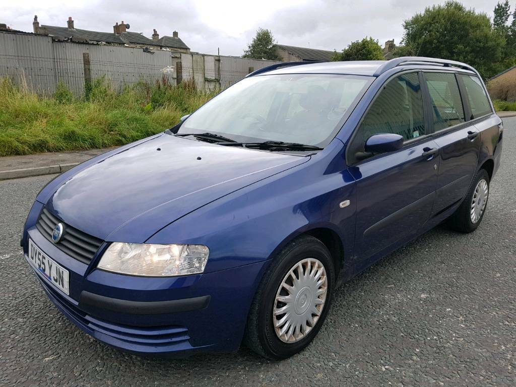 Fiat stilo active jtd estate,tow bar,turbo diesel