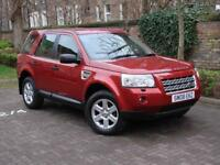 FINANCE AVAILABLE!! 2008 LAND ROVER FREELANDER 2.2 TD4 GS 5d AUTO 159 BHP, AWD 1 FORMER KEEPER, FSH