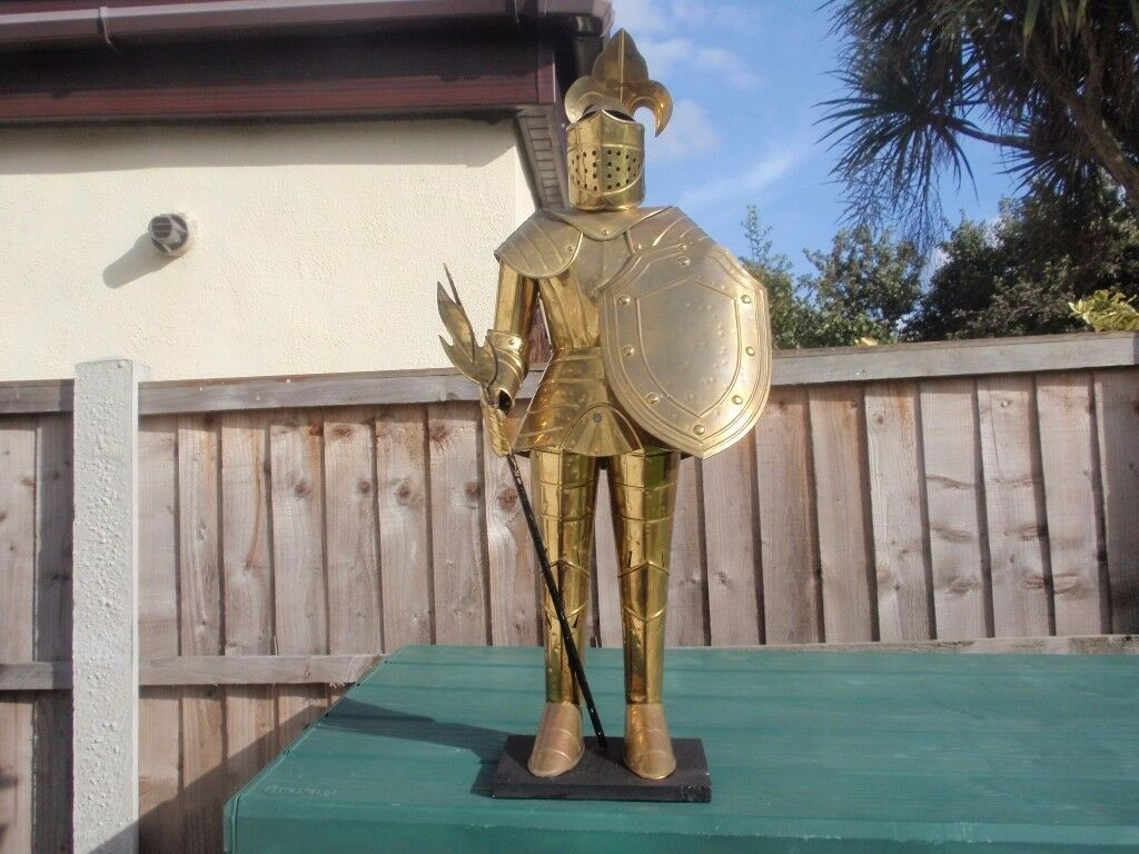 "Knight in Armour approx 33"" high"