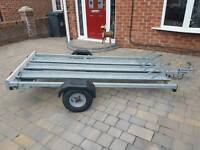 Motorcycle Trailer X3 fully Galvanised