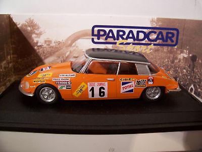 CITROËN DS PROTO CHAMONIX 1970 1/43 PARADCAR SP018 voiture miniature collection