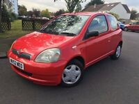 Toyota Yaris, 1.0 Petrol, MOT until March 2017, 2 owners, 3 keys.