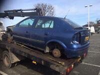 Vauxhall Astra mk4 1.4i blue breaking for parts