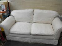 Laura Ashley White Sofa