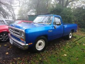 1985 dodge ram pick up